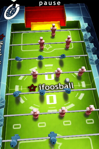 Screenshot iFoosball